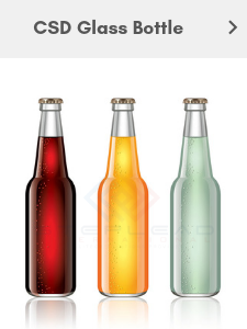 glass bottle beverage