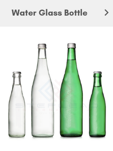glass bottle water
