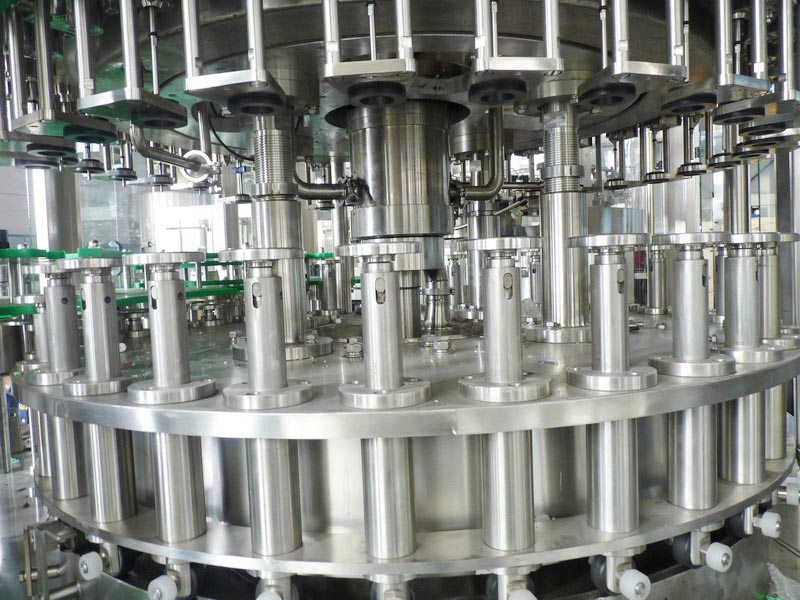 filling structure of bottle filling equipment