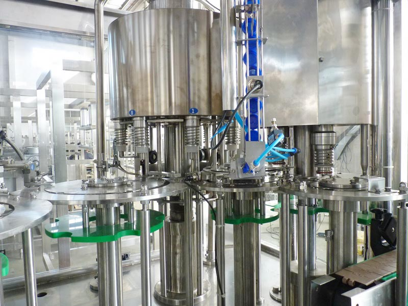 filling and capping systems for bottling machine
