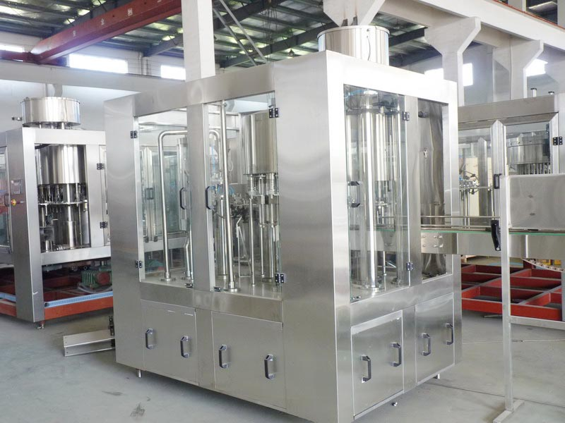 small bottling machine for bottle water soft drink