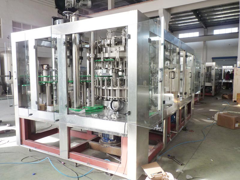 CSD filling machine for carbonated drink