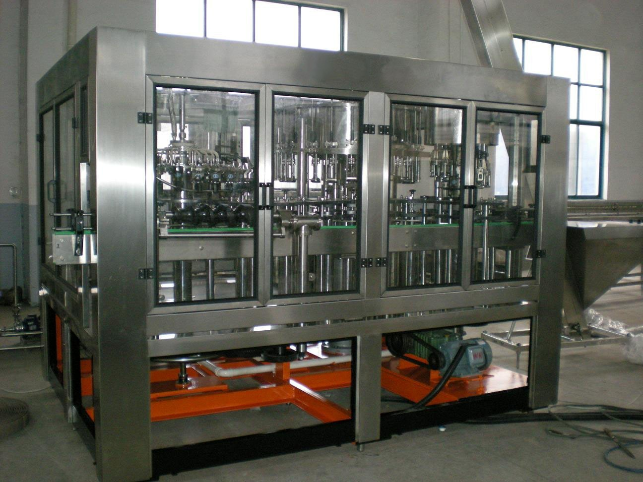 glass bottle filling machine for wine filling production