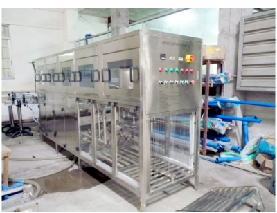 300BPH 5 gallon rinsing filling capping machine